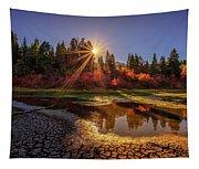 Autumn Sun Tapestry