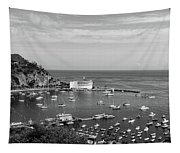 Avalon Harbor - Catalina Island, California Tapestry