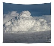 Beautiful Cloudscape High Up In The Sky. Tapestry