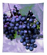 Blue Grape Bunches 7 Tapestry