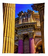 Columns Of The Palace Of Fine Arts Tapestry