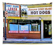 Coney Island Lunch Tapestry