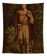 Davy Crockett Tapestry