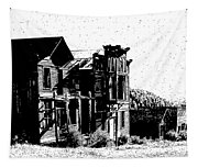 Elkhorn Ghost Town Montana Tapestry