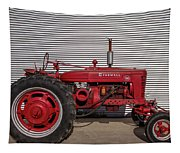 Farmall M And Steel Tapestry