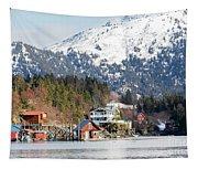 Halibut Cove Kenai Peninsula Alaska Tapestry