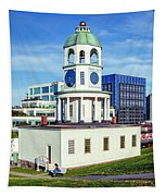 Halifax Town Clock 2017 Tapestry