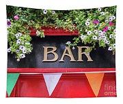 Irish Bar In Dublin Tapestry