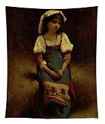Italian Woman Tapestry