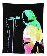 Joe Cocker Watercolor Tapestry