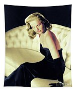 Martha Hyer, Vintage Actress Tapestry