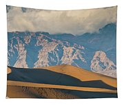 Mesquite Flat Sand Dunes At Sunset Tapestry