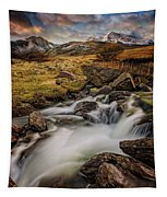 Mountains North Wales Tapestry