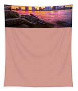 New Orleans Sunset Tapestry