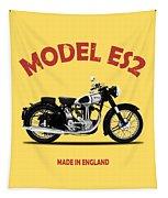 Norton Es2 1947 Tapestry by Mark Rogan