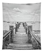 Old Dock Hyannis Port Cape Cod Ma Tapestry