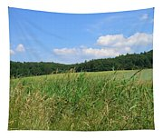 Photography Landscape With Fields In Germany Tapestry