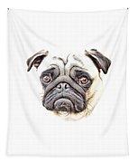 Pug Tapestry