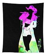 Shania Watercolor Tapestry