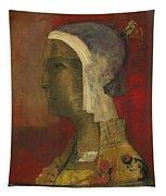 Symbolic Head, 1890 Tapestry