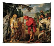 The Consecration Of Decius Mus        Tapestry
