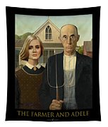 The Farmer And Adele Tapestry