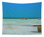 Tropical Days Bucket List Tapestry