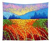 Violet Hills  Tapestry