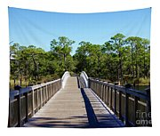 Western Lake Bridge Tapestry