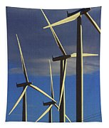 Wind Power Art  Tapestry