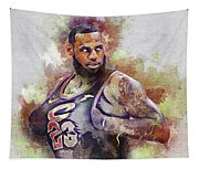 Lebron Raymone James Tapestry