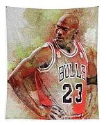 Michael Jeffrey Jordan Tapestry
