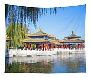 Beautiful Beihai Park, Beijing, China Photograph Tapestry