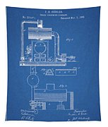 1885 Furnace Patent Tapestry