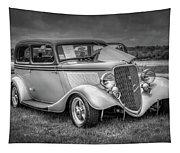 1933 Ford Tudor Sedan With Trailer Tapestry