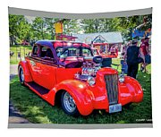 1935 Dodge Coupe Hot Rod Gasser Tapestry