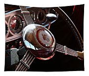 1937 Vintage Model 1508 Steering Wheel Tapestry