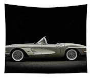 1961 Corvette Tapestry