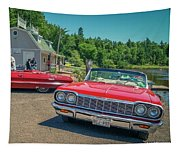 1964 And 1963 Chevrolet Impala Convertibles Tapestry