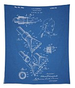 1964 Salon Suction Patent Tapestry