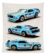 1969 Ford Mustang Boss 302 Tapestry