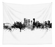 Chattanooga Tennessee Skyline Tapestry