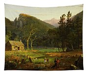 Eagle Cliff, Franconia Notch, New Hampshire Tapestry