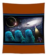 Enigma  Tapestry by Hartmut Jager