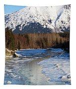 Portage Creek Portage Glacier Highway, Alaska Tapestry