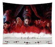 Star Wars The Last Jedi  Tapestry