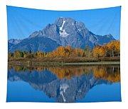 Teton Mountains Tapestry