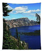Crater Lake Oregon Tapestry
