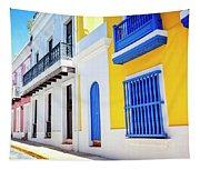 Streets Of San Juan - Puerto Rico Tapestry