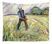 The Haymaker  Tapestry